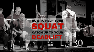 How to Help Your Squat Catch Up With Your Deadlift