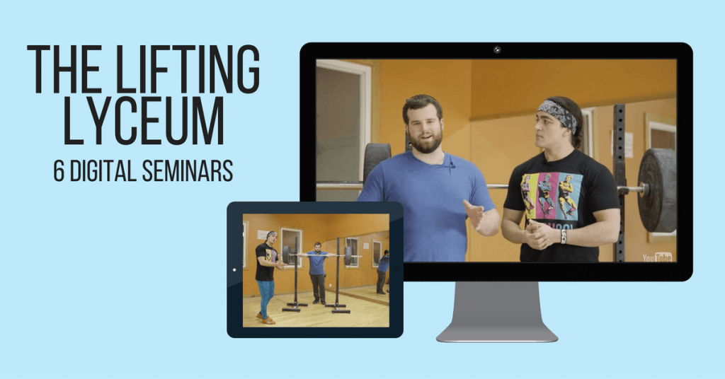 The Lifting Lyceum seminar series • Stronger by Science