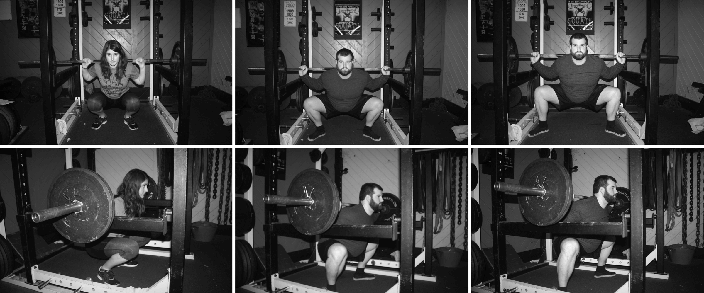 Close-, Medium-, and Wide-Stance Squats. Your stance width will depends on your training goals and your personal anatomy.