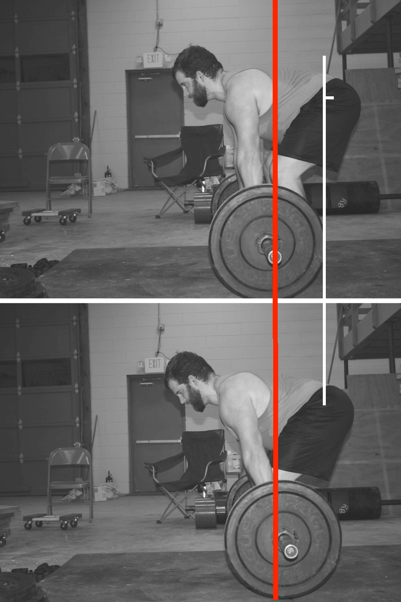 lats in the deadlift