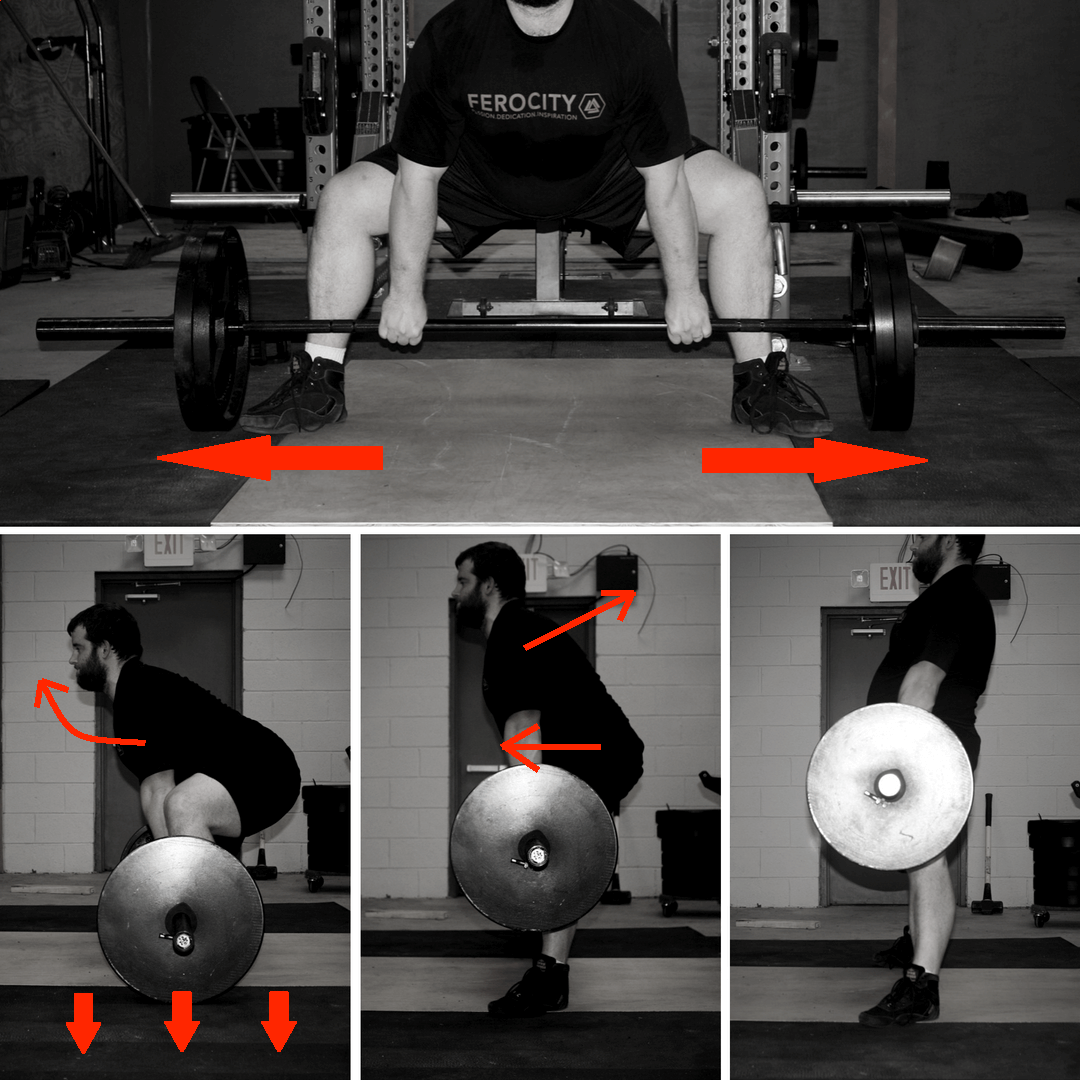 how to deadlift in the sumo deadlift
