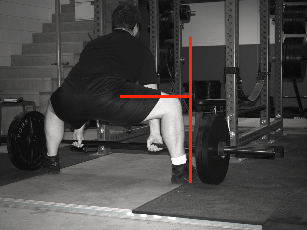 hip extension moment arm in the sumo deadlift