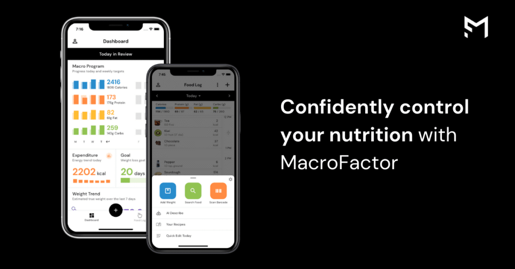 confidently control your nutrition with the macrofactor app